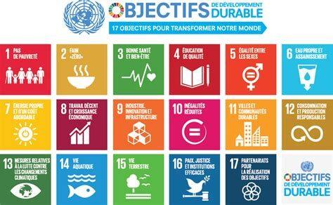 Voici nos 17 ODD pour 2030 !
